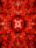 Red kaleidoscope background Stock Photos