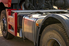 Red KAMAZ. Stock Images