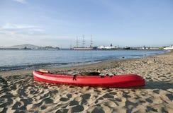 Red Kayak Royalty Free Stock Photography