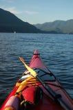 Red Kayak Stock Photography