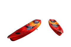 Red kayak Royalty Free Stock Photos