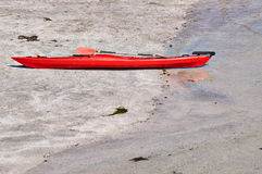 Red Kayak. Stock Image
