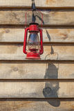 Red Kerosene Lantern Royalty Free Stock Images