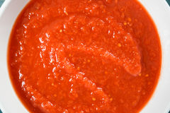 Red Ketchup Tomato Sauce Royalty Free Stock Photo