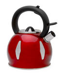 Red kettle Royalty Free Stock Images