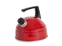 Red kettle Stock Photos