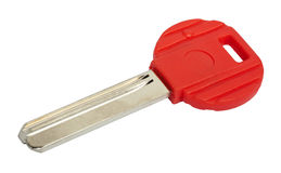 Isolated Red Key Royalty Free Stock Photos