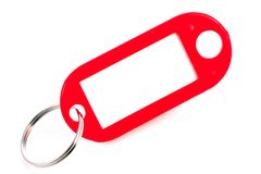 Red Keyring Stock Images