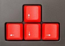 Red keys Stock Image