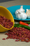 Red Kidney Beans Royalty Free Stock Photos