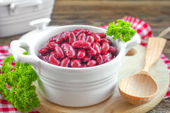 Red kidney beans Royalty Free Stock Photo