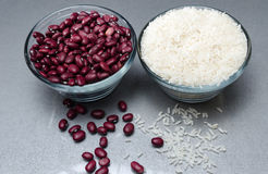 Free Red Kidney Beans And White Rice Royalty Free Stock Photography - 60024697