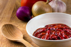Red kidney beans Stock Photography