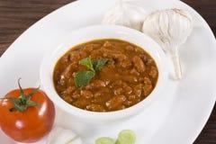 Red kidney beans - Rajma. Indian Dish Stock Image