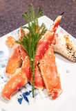 Red king crab Royalty Free Stock Photos