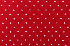 Red knit fabric Royalty Free Stock Photos