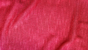Red knit fabric textile background. Stock Images