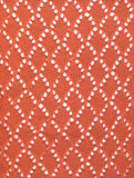 Red knitted lace fabric Royalty Free Stock Photo