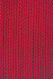 Red knitting Stock Photo
