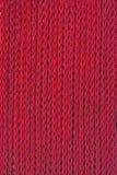 Red knitting Stock Photo