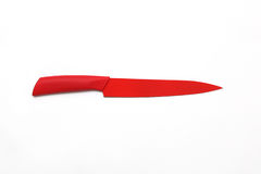 Red knives Stock Images