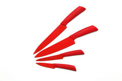 Red knives Stock Image