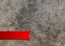 Red label on grunge background Stock Photos