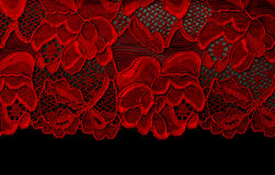 Red lace Stock Photos