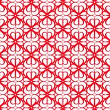 Red lace ornament background Royalty Free Stock Photo