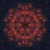 Red lace pattern Royalty Free Stock Photos