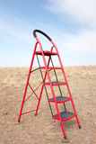 Red Ladder Royalty Free Stock Image