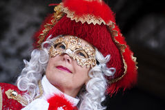 The red lady Royalty Free Stock Images