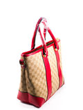 Red lady handbag Stock Image