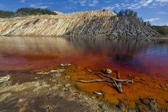 Red lake 1 Royalty Free Stock Image