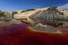 Red lake Stock Photos