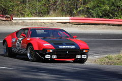 Red Lamborghini Stock Image