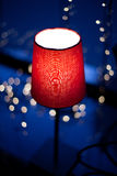Red lamp Stock Images