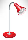 Red lamp royalty free illustration