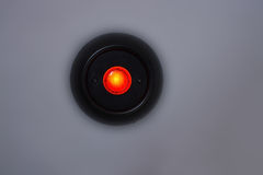 Red lamp button Stock Photos