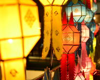 Red lamp Royalty Free Stock Images