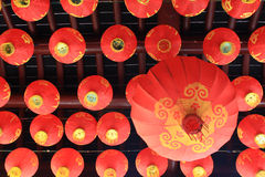 Red lamp. Is favour in China can see so much in newyear Stock Images