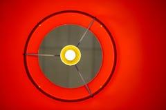 Red Lamp Shade royalty free stock image