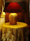 Red lampshade Royalty Free Stock Photos