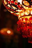 The red lantern. In the night stock images