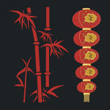 Red lantern. Stock Photography
