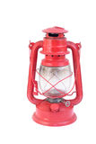 Red Lantern. Isolated on white Royalty Free Stock Photo