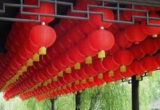 Red lantern Royalty Free Stock Image
