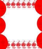 Red lantern Background Royalty Free Stock Images