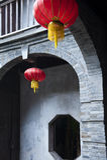 Red lantern Stock Photo