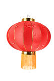 Red lantern isolated Royalty Free Stock Image